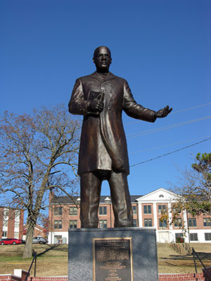 Statue of William Hooper Councill