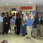 Physics faculty group photo