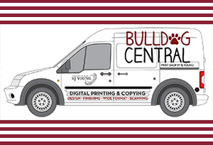 Bulldog Central van