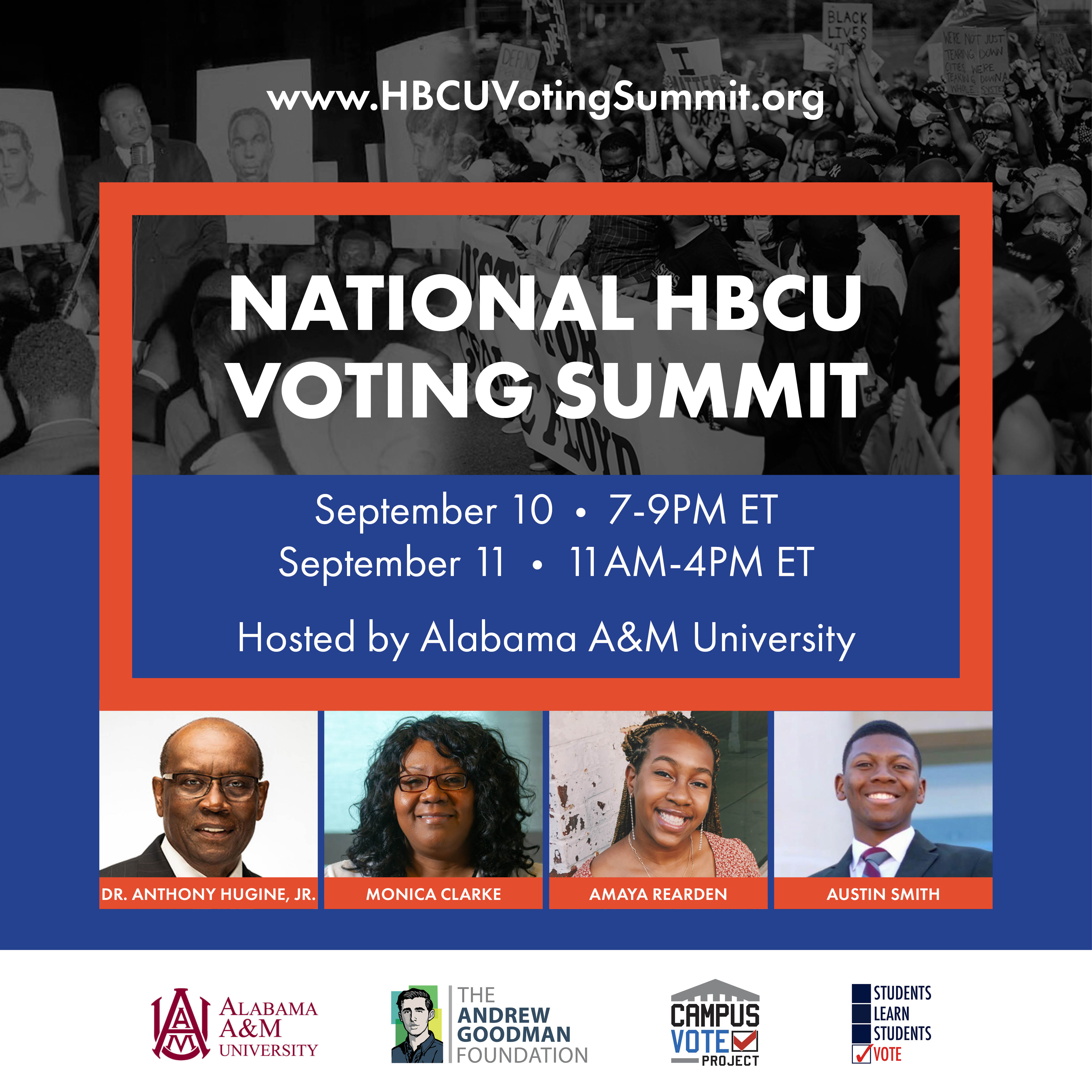 National Voting Summit 2020 Flyer