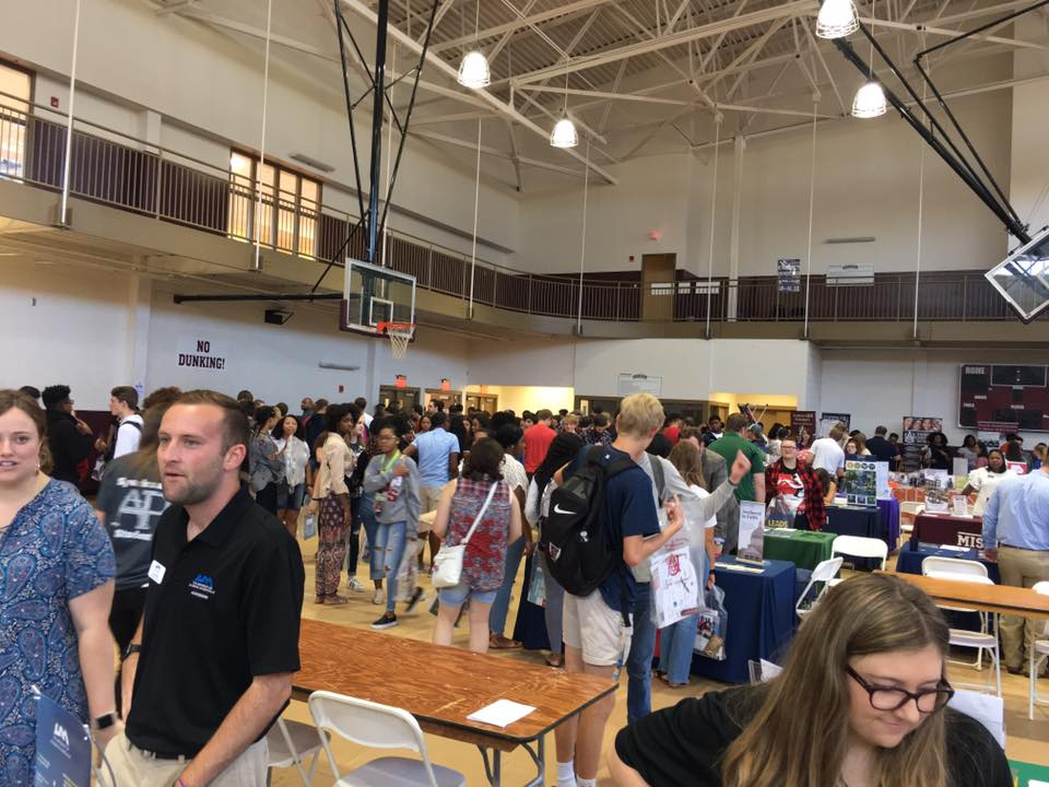 ALACRAO College Fair Scene