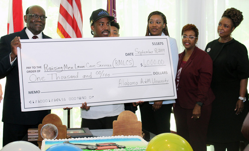 Smith surprised by AAMU friends and supporters
