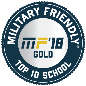 Military Friendly Gold School Badge