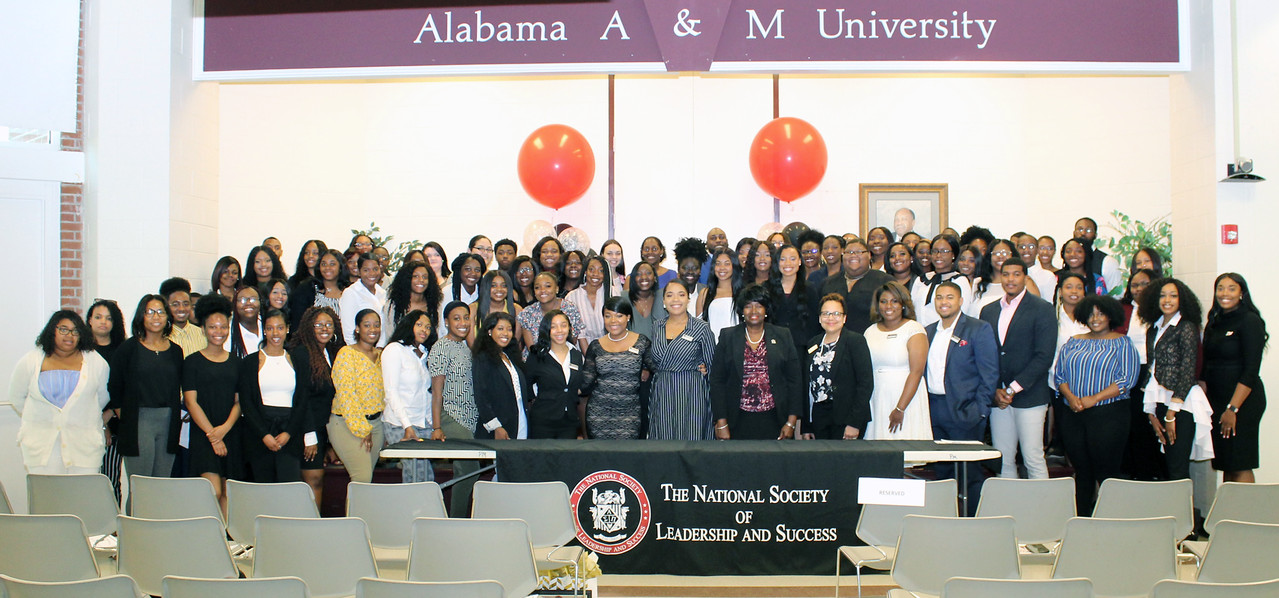 NSLS induction ceremony at AAMU
