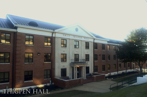 Thigpen Hall renovated