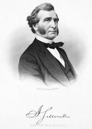 photo of Senator Justin Smith Morrill