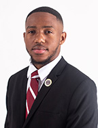 Photo of Jacobi Gray SGA President