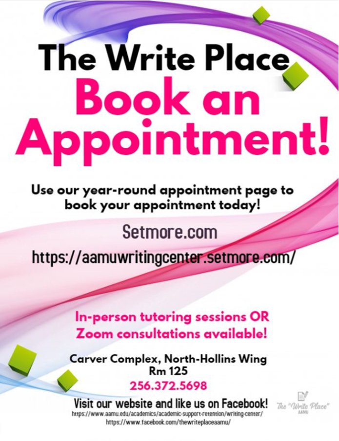book appointments flyer
