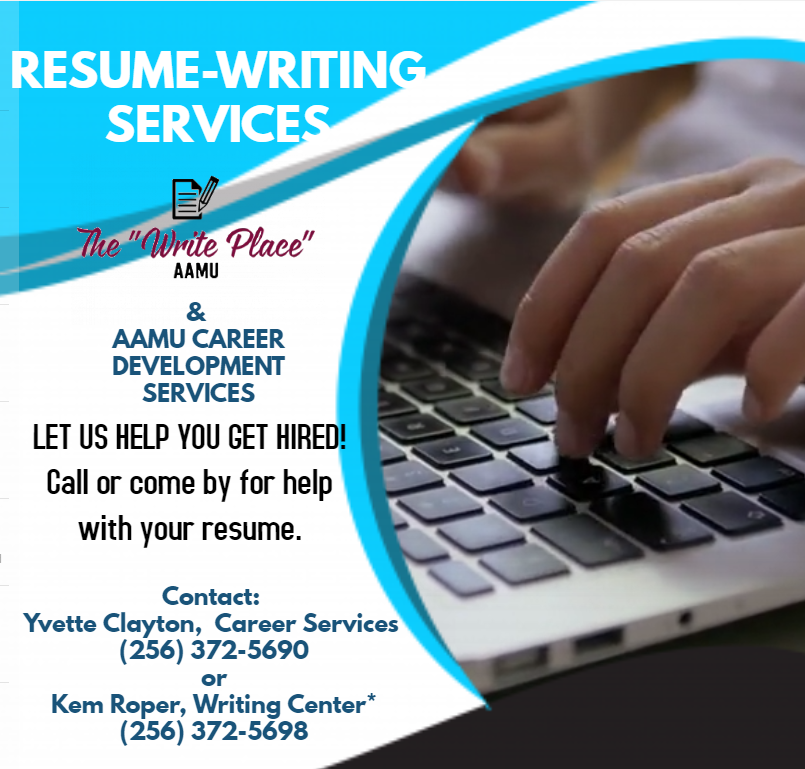 career writing flyer