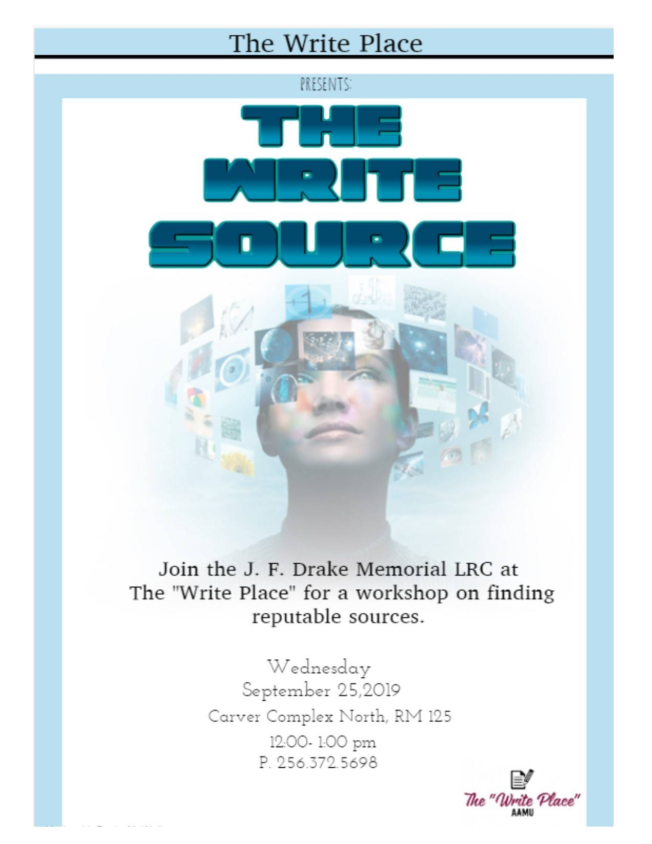 The Write Source flyer