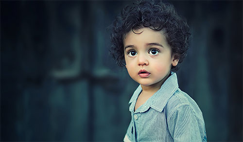 Photo of a cute toddler boy