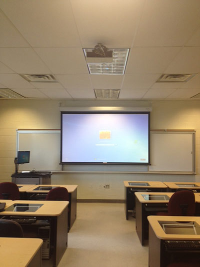 Smart Classroom interior photo