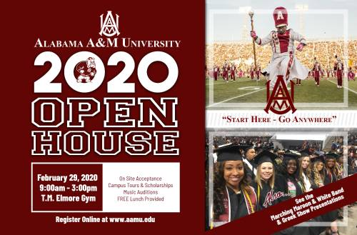 Admissions Open House 2020