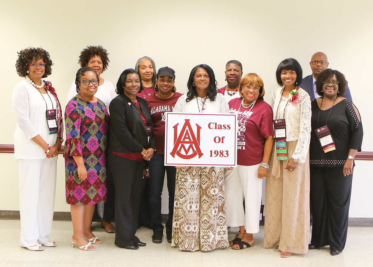A photo of the members of the class of 1979 - Large