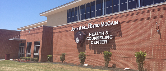 John and Ella Byrd McCain Health and Counseling Center